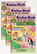 Bronze Age (1970-1979):Cartoon Character, Richie Rich and Gloria #1 File Copies Group (Harvey, 1977)Condition: Average VF+.... (Total: 24 Comic Books)