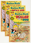 Bronze Age (1970-1979):Humor, Richie Rich and Dollar the Dog #1 File Copies Group (Harvey, 1977)Condition: Average VF+.... (Total: 20 Comic Books)