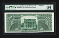 Canadian Currency: , Montreal, PQ- The Bank of Montreal $20 1891 Ch. # 505-40-06BP Back Proof. ...
