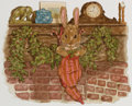 Pulp, Pulp-like, Digests, and Paperback Art, MICHAEL HAGUE (American, b. 1948). The Velveteen Rabbit storyillustration. Watercolor and pencil on paper laid on board...
