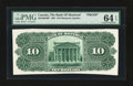 Canadian Currency: , Montreal, PQ- The Bank of Montreal $10 1891 Ch. # 505-40-04BP BackProof. ...