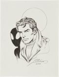 Original Comic Art:Sketches, Joe Sinnott Peter Parker/Spider-Man Sketch Original Art (2000)....