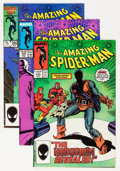 Modern Age (1980-Present):Superhero, The Amazing Spider-Man Group (Marvel, 1984-93) Condition: AverageNM.... (Total: 63 Comic Books)