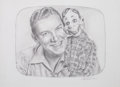 Mainstream Illustration, LORAINE BUSH (American, 20th Century). Group of Five Super HeroPortraits, 2000. Pencil on board. 14.25 x 11.25 in. (lar...(Total: 5 Items)