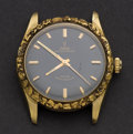 Timepieces:Wristwatch, Tudor Oyster Prince Self-Winding Wristwatch With 14k Gold NuggetBezel. ...