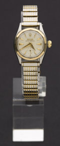 Timepieces:Wristwatch, Rolex Ref. 6507 Lady's Two Tone For Repair, circa 1955. ...