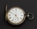 Timepieces:Pocket (pre 1900) , Brillman London Silver Lever Fusee Pocket Watch. ...