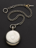 Timepieces:Pocket (pre 1900) , Hampden 15 Jewel Coin Silver Pocket Watch. ...