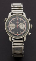 Timepieces:Wristwatch, Wyler Incaflex 660 Manual Wind Wristwatch For Parts Or Repair. ...