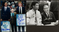 Basketball Collectibles:Photos, Kareem Abdul Jabbar, Bill Walton and John Wooden Multi SignedPhotographs Lot of 2....