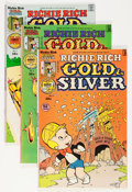 Bronze Age (1970-1979):Cartoon Character, Richie Rich Gold and Silver #2-42 File Copy Short Box Group(Harvey, 1975-82) Condition: Average NM-....
