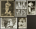 Baseball Collectibles:Photos, New York Yankees Greats Signed and Unsigned Photographs Lot of 3....