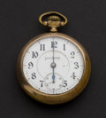 Timepieces:Pocket (post 1900), Illinois 24 Jewel 18 Size Bunn Special Pocket Watch. ...