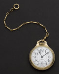 Timepieces:Pocket (post 1900), Swiss Made 17 Jewel Hamilton Pocket Watch. ...