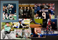 Football Collectibles:Photos, Sports Greats Signed Oversized Photographs Lot of 8 and More....