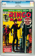 Bronze Age (1970-1979):Western, The Ringo Kid #20 (Marvel, 1973) CGC NM 9.4 White pages....