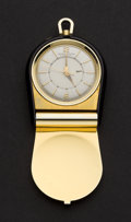Timepieces:Other , Jaeger Le Coultre Pocket Alarm Watch. ...