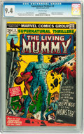 Bronze Age (1970-1979):Horror, Supernatural Thrillers #5 (Marvel, 1973) CGC NM 9.4 Off-whitepages....