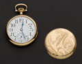 Timepieces:Pocket (post 1900), Elgin 21 Jewel Father Time, Choice Case. ...