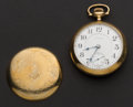 Timepieces:Pocket (post 1900), Elgin 21 Jewel 18 Size Pocket Watch. ...