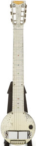 Musical Instruments:Lap Steel Guitars, 1930s Rickenbacker Frying Pan Lap Steel Guitar, Serial # A100....