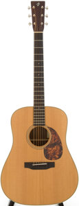 Musical Instruments:Acoustic Guitars, 2000s Breedlove DR Natural Acoustic Guitar, Serial # 9903....