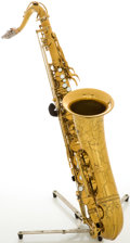Musical Instruments:Horns & Wind Instruments, 1954 Selmer Balanced Action Brass Tenor Saxophone, Serial # 56574....