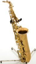 Musical Instruments:Horns & Wind Instruments, 1963 Selmer Mark VI Alto Saxophone, Serial # 99839....