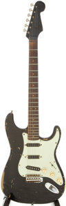 Musical Instruments:Electric Guitars, 1963 Fender Stratocaster Solid Body Electric Guitar, Serial #L14877....