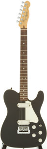 Musical Instruments:Electric Guitars, 1983 Fender Telecaster Elite Black Solid Body Electric Guitar,Serial # E31278. ...