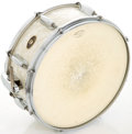 Musical Instruments:Drums & Percussion, Circa 1960 Slingerland White Marine Pearl Snare Drum....