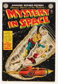 Golden Age (1938-1955):Science Fiction, Mystery in Space #5 (DC, 1952) Condition: FN....