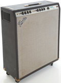 Musical Instruments:Amplifiers, PA, & Effects, Circa Late 1970's Fender Bassman Ten Silverface Guitar Amplifier,#A880188....