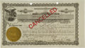 Autographs:Others, 1940 Ty Cobb Signed Coca-Cola Stock Certificate....