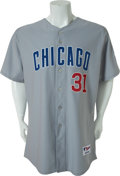Baseball Collectibles:Uniforms, 2005 Gred Maddux Game Worn Chicago Cubs Jersey....