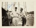 Autographs:Photos, 1938 Lou Gehrig Signed Photograph....