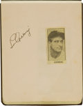 Autographs:Others, Late 1930's Baseball Autograph Album Signed by Gehrig, Gordon,More....