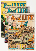 Golden Age (1938-1955):Non-Fiction, Real Life Comics #51, 55, and 57 Group (Nedor Publications,1950-52).... (Total: 3 Comic Books)