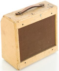 Musical Instruments:Amplifiers, PA, & Effects, Circa 1950's Gibson GA-5 Tan Guitar Amplifier, #17165....