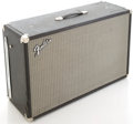 Musical Instruments:Amplifiers, PA, & Effects, 1960's Fender Bassman Black Guitar Speaker Cabinet....