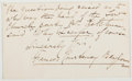 Autographs:Authors, Frances Courtenay Baylor (1848-1920, American Writer). AutographQuotation Signed. Very good....