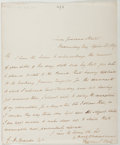 Autographs:Authors, Theodore Hook (1788-1841, British Man of Letters). Autograph LetterSigned. Very good....