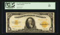Large Size:Gold Certificates, Fr. 1173* $10 1922 Gold Certificate Star PCGS Fine 15.. ...