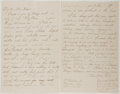 Autographs:Authors, Alice Morse Earle (1851-1911, American Writer). Autograph Letter Signed. Near fine....