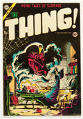 Golden Age (1938-1955):Horror, The Thing! #17 (Charlton, 1954) Condition: VG/FN....
