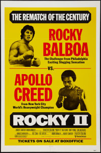 "Rocky II (United Artists, 1979). One Sheet (27"" X 41"") Advance, Fight Style. Sports"