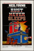 """Movie Posters:Rock and Roll, Rust Never Sleeps (International Harmony, 1979). One Sheet (27"""" X41""""). Rock and Roll.. ..."""