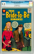 Silver Age (1956-1969):Romance, True Bride-to-Be Romances #18 File Copy (Harvey, 1956) CGC NM- 9.2Cream to off-white pages....