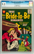 Golden Age (1938-1955):Romance, True Bride-to-Be Romances #19 File Copy (Harvey, 1956) CGC NM- 9.2 Cream to off-white pages....