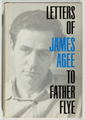 Books:Biography & Memoir, James Agee. Letters of James Agee to Father Flye. Braziller, 1962. Price clipped dj. Very good....